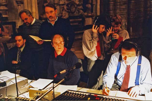 James O'Donnell (Organist of Westminster Abbey) with members of the Choir, recorded by Sounds Special in 2003